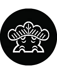家紋シール 陰一つ松紋 布タイプ 直径40mm 6枚セット NS4-0139