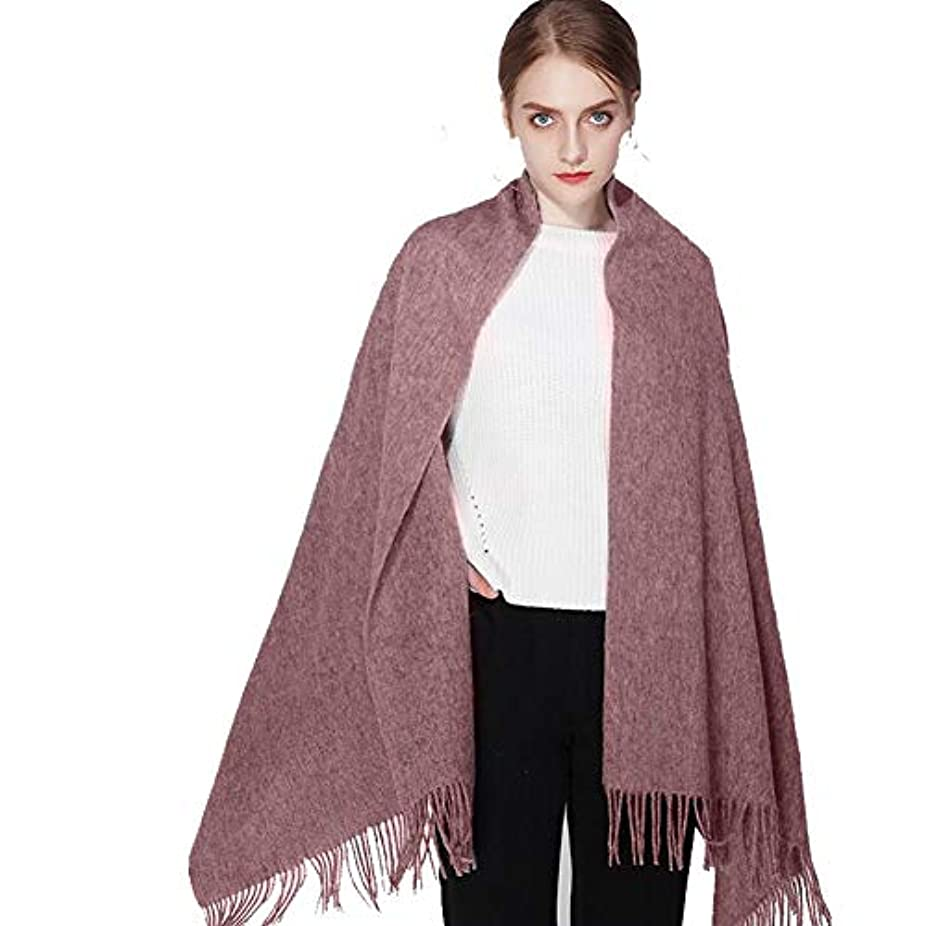 やがてファンドすりMUMA スカーフ女性ヴィラスは暖かく保ちますウルトラソフトストール百ビルド秋冬 (色 : Sweetened bean)