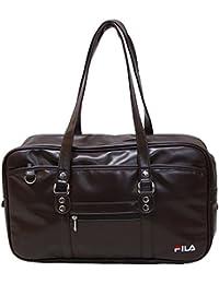 (フィラ)FILA 合成皮革スクールバッグ(大きめB4サイズ対応)
