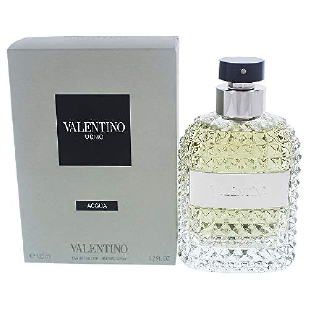 イブニングログにぎやかヴァレンティノ ウォモ アクア EDT スプレー 125ml ヴァレンティノ VALENTINO