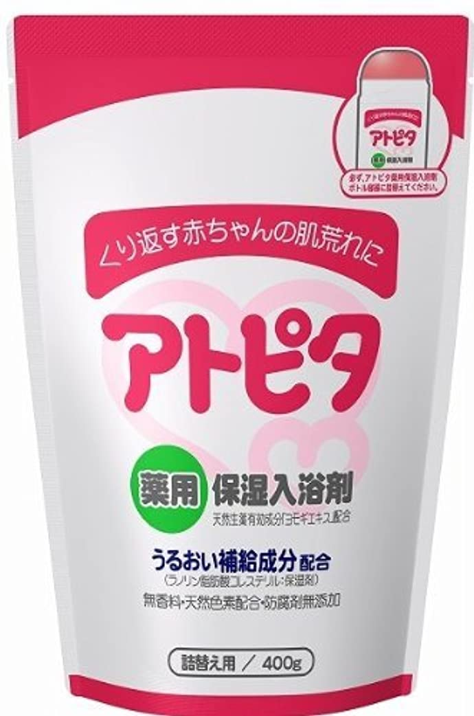 液体キャラクター無秩序薬用入浴剤 アトピタ 400g(詰替え用)