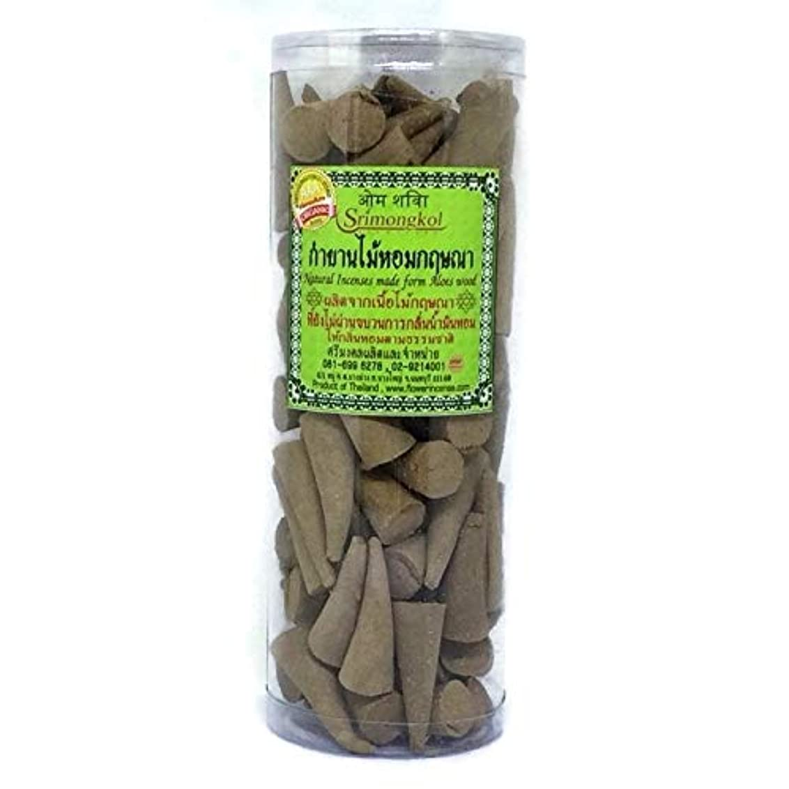 ダーツコットン公園Srimongkol Agarwood Natural Incense Cones 300 Grams Grade AAA Organic (No Chemical :::Srimongkol Agarwoodナチュラル...