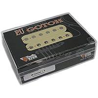 【 GOTOH Pickups 】日本製 ハムバッカーピックアップ HB-Custom ブリッジ用(リア用) クリームカラー GTPU-HB-CTM-CRM-B