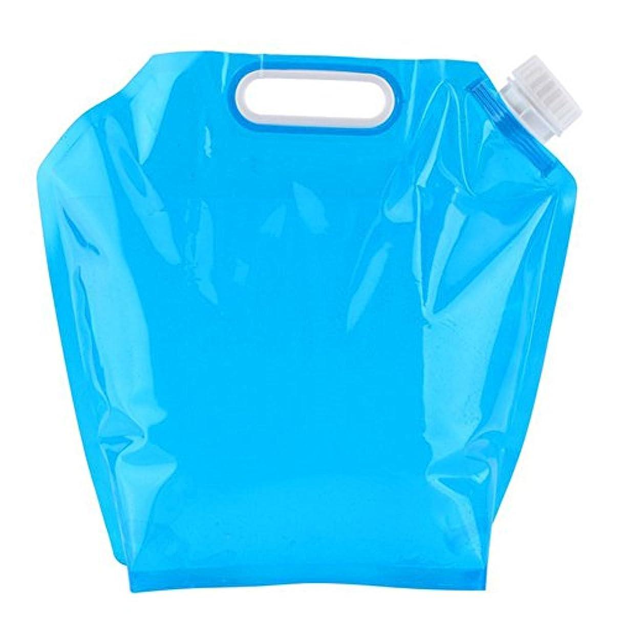 教育者アイドルクラッチEcloud Shop ポータブルウォーターバッグアウトドアスポーツウォーターストレージバッグキャンプハイキングサバイバルツール水貯蔵器具(5L)