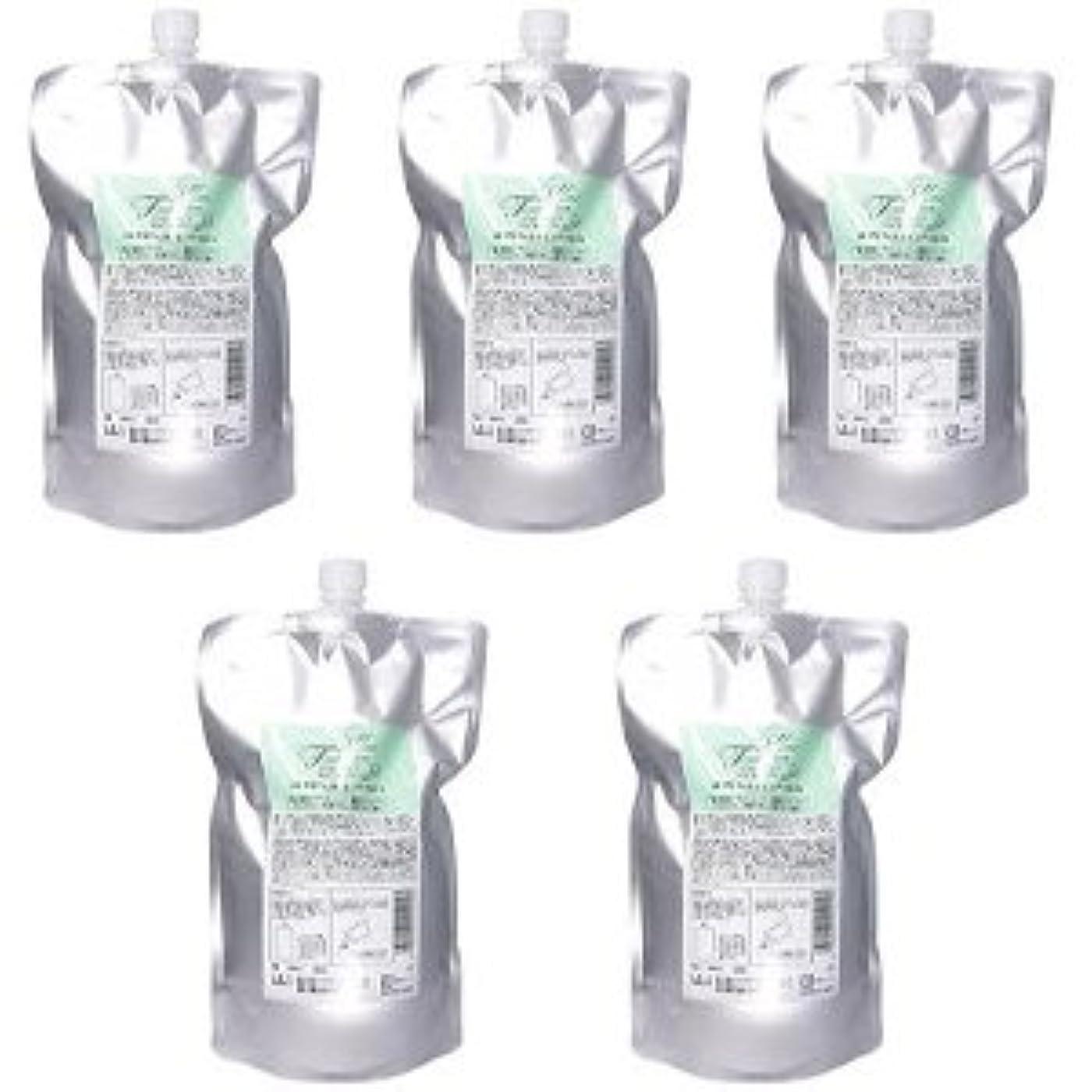 小麦粉早熟好奇心盛【X5個セット】 メロス HF アミフェクトシャンプー 800ml(レフィル)
