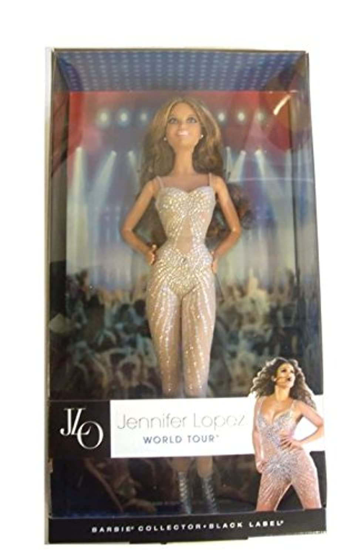 Barbie Collector Black Label Doll: Jennifer Lopez World Tour