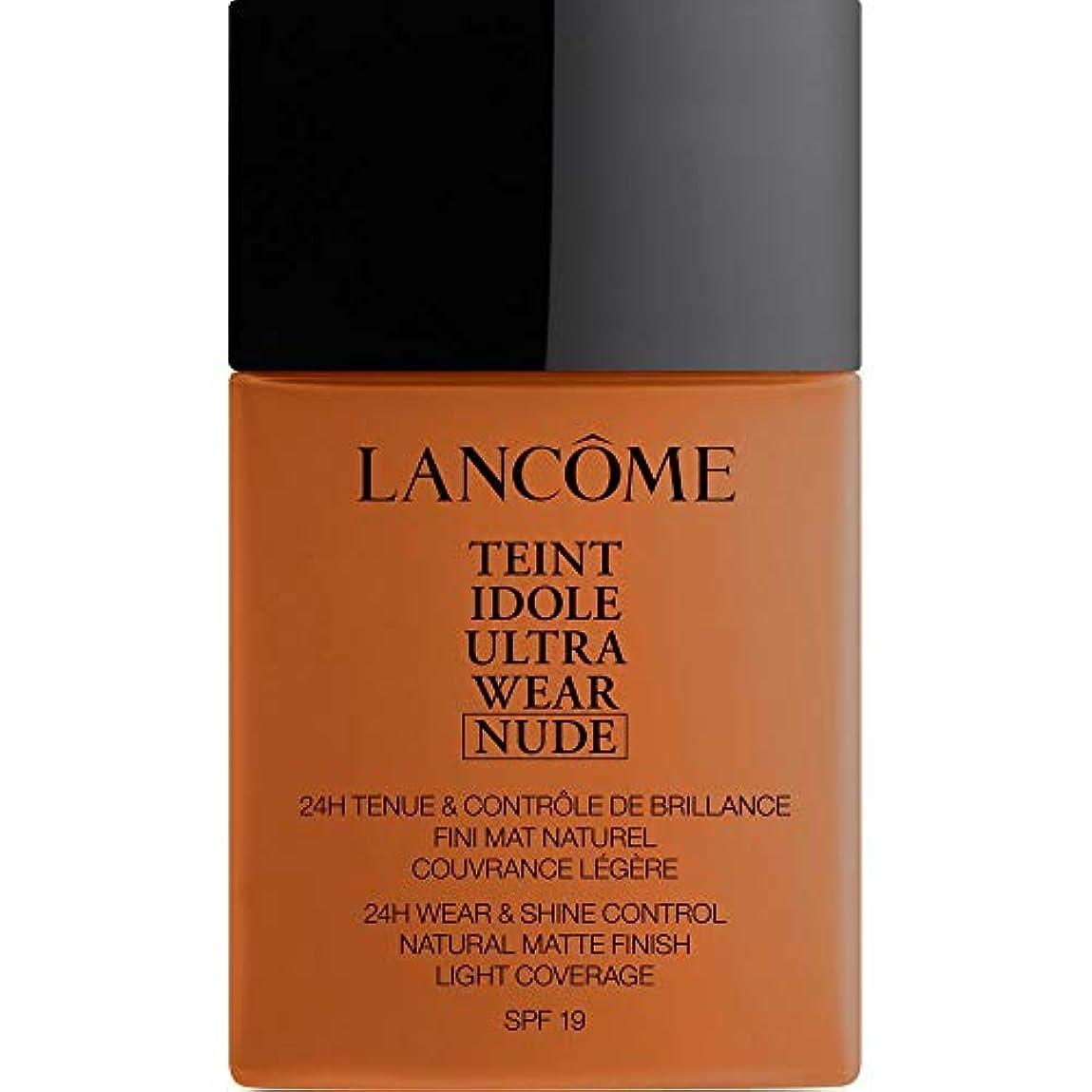 ライン電話添付[Lanc?me ] ランコムTeintのIdole超摩耗ヌード財団Spf19の40ミリリットル11 - Muscade - Lancome Teint Idole Ultra Wear Nude Foundation...