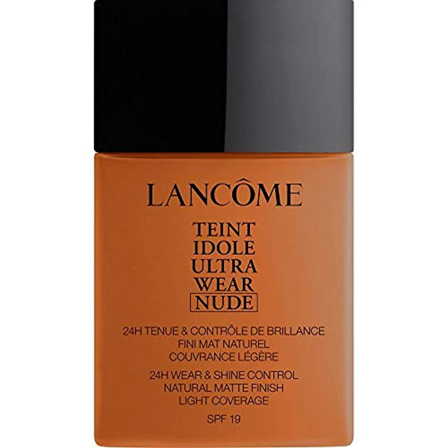 [Lanc?me ] ランコムTeintのIdole超摩耗ヌード財団Spf19の40ミリリットル11 - Muscade - Lancome Teint Idole Ultra Wear Nude Foundation...