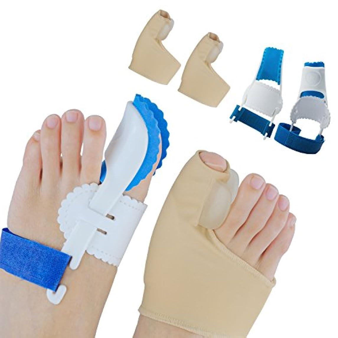 思いつくエンジニアリング高揚したSumifun外反母趾 専用 つま先セパレーター 矯正 ケア ベルト 寝ている間に親指矯正
