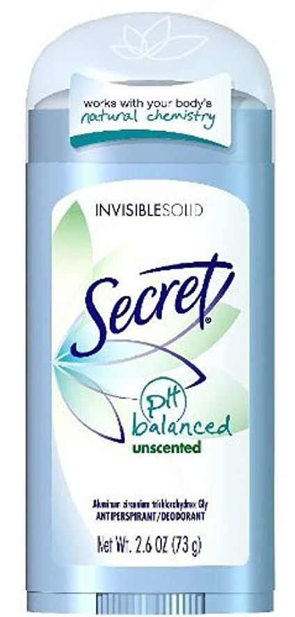 ファンダッシュクロスSecret Sheer Dry Solid Antiperspirant & Deodorant, Unscented - 2.6 Oz (並行輸入品)