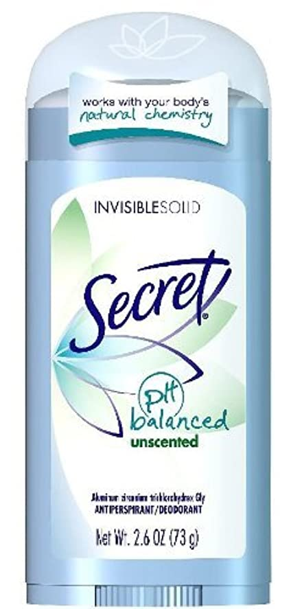 わずかにシロクマスペイン語Secret Sheer Dry Solid Antiperspirant & Deodorant, Unscented - 2.6 Oz (並行輸入品)
