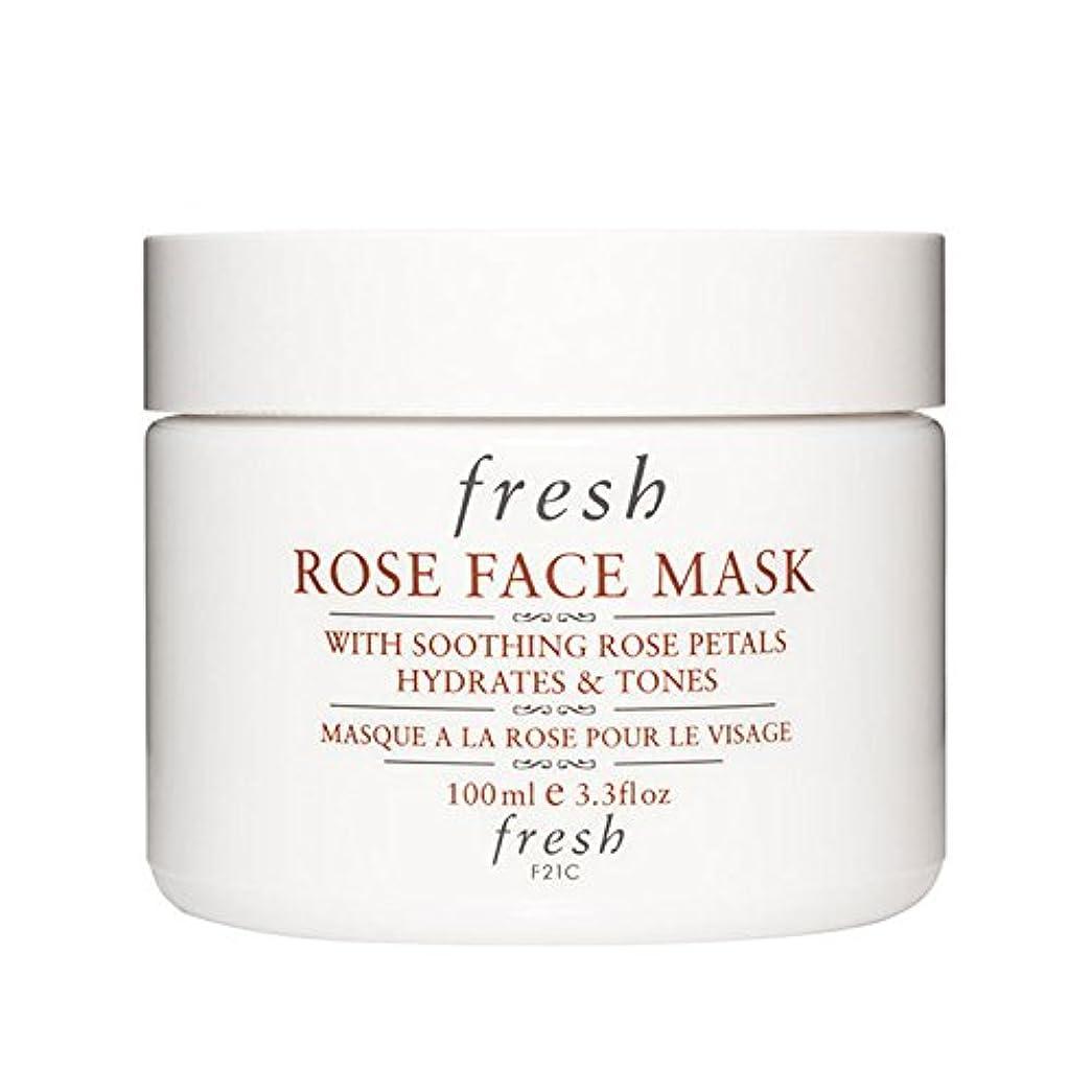 メタルライン一貫性のない工場【並行輸入品】Fresh ROSE FACE MASK (フレッシュ ローズフェイスマスク) 3.4 oz (100g) by Fresh for Women