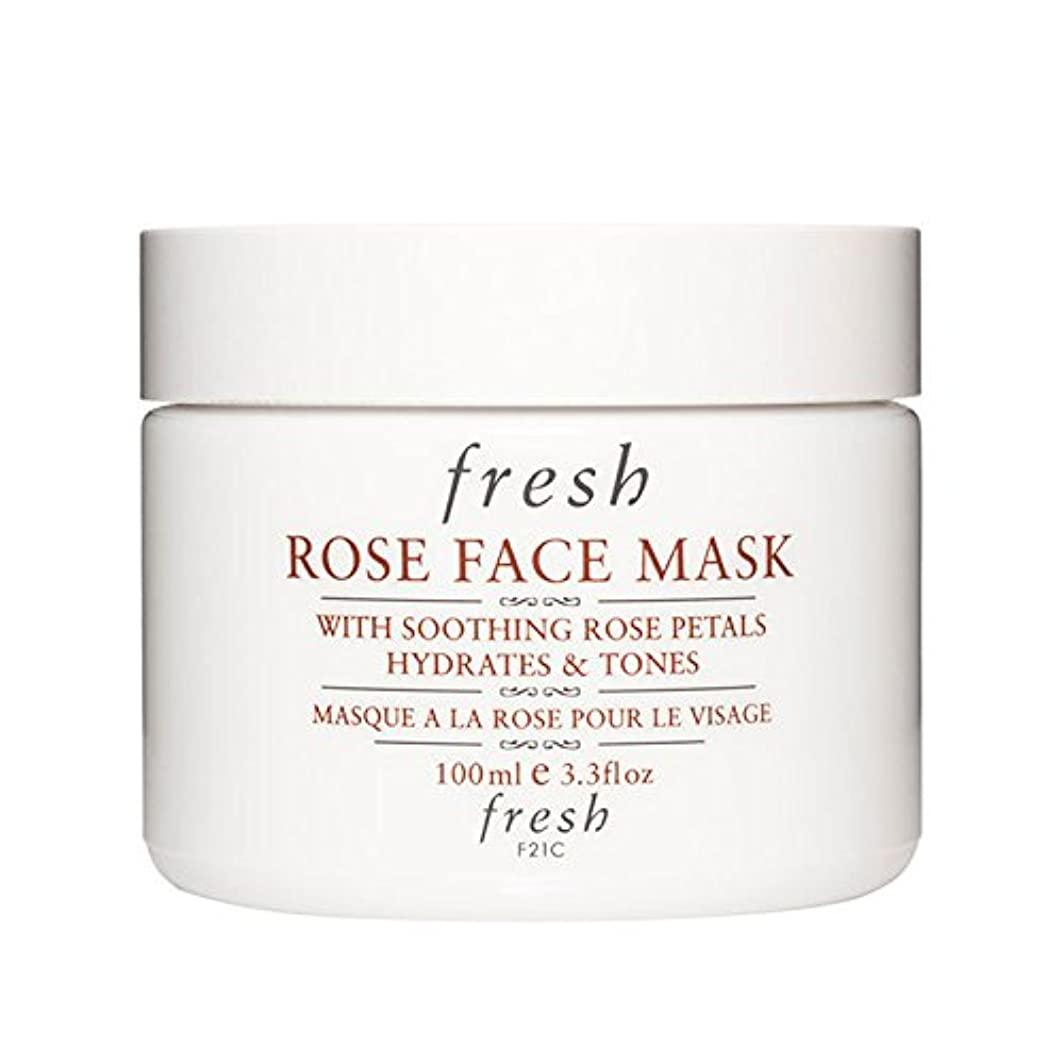 霊期間パパ【並行輸入品】Fresh ROSE FACE MASK (フレッシュ ローズフェイスマスク) 3.4 oz (100g) by Fresh for Women