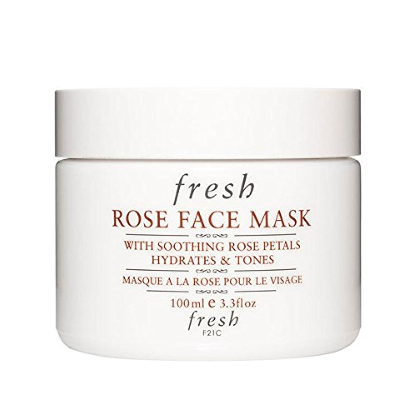 【並行輸入品】Fresh ROSE FACE MASK (フレッシュ ローズフェイスマスク) 3.4 oz (100g) by Fresh for Women