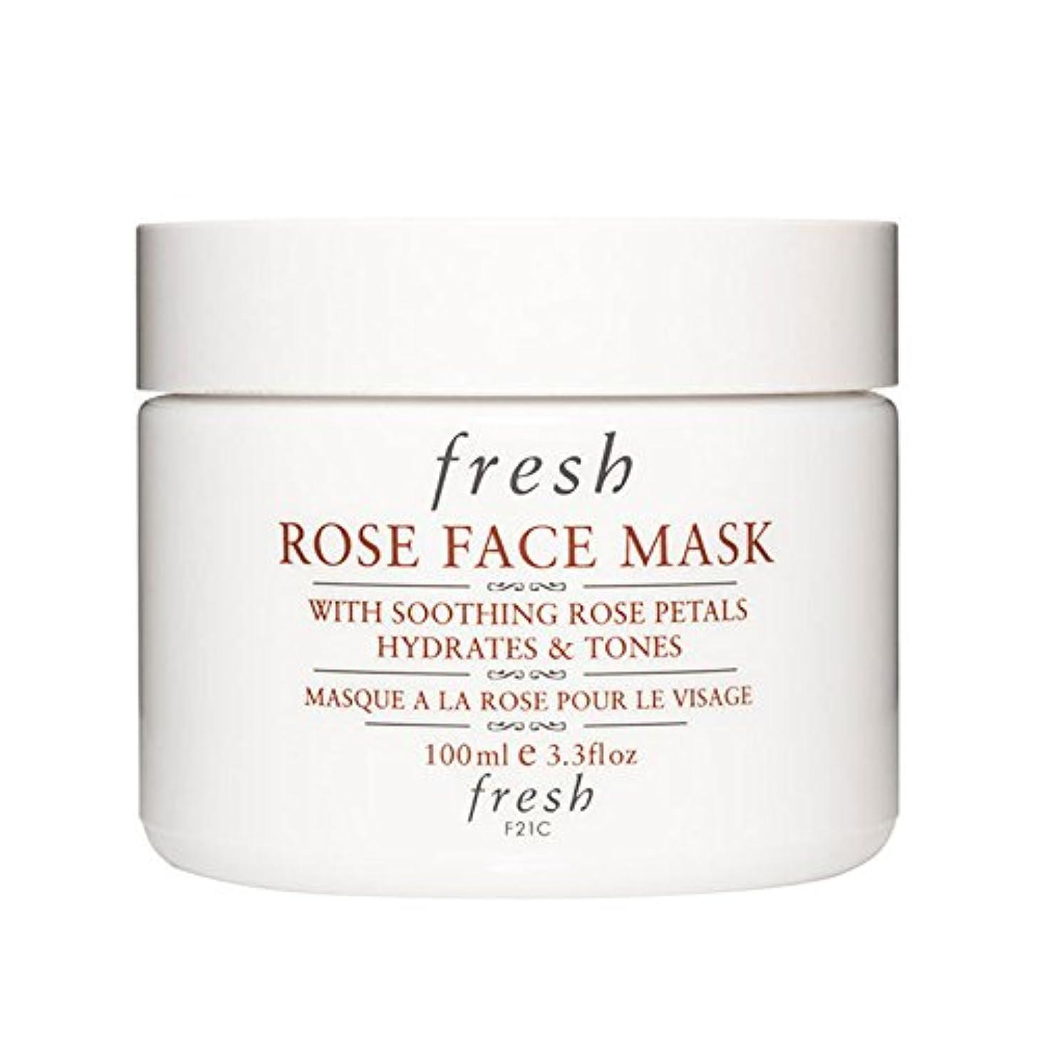ナプキン換気するブラウス【並行輸入品】Fresh ROSE FACE MASK (フレッシュ ローズフェイスマスク) 3.4 oz (100g) by Fresh for Women