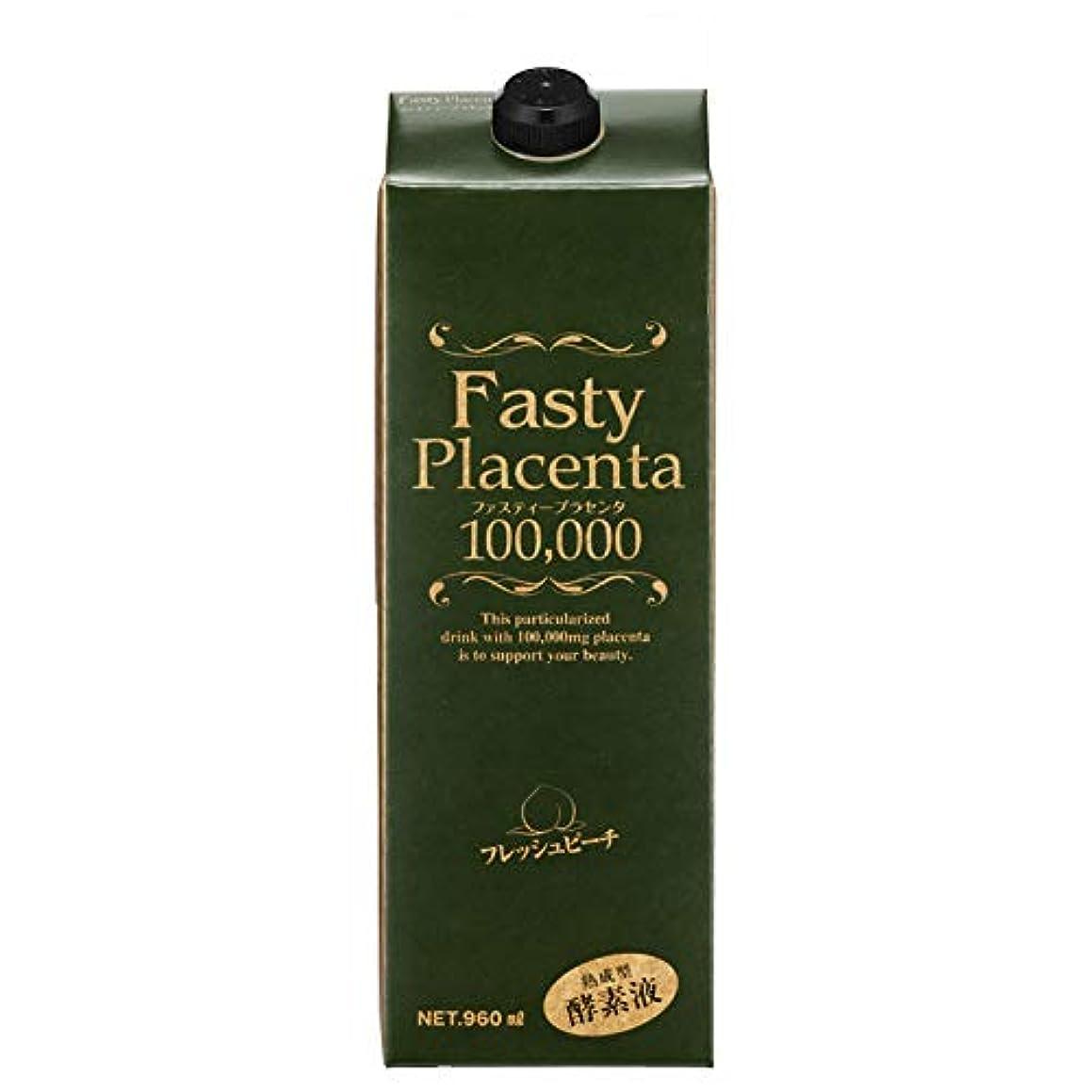 ジャンプゲートアイデアファスティープラセンタ100,000 増量パック(フレッシュピーチ味)1個