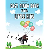 Easy Piano Book For Little Kids: Blank Sheet Music Notebook For Learning Play Piano And Keyboard Wide Staff Manuscript Transcription Paper