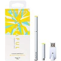 VITAFUL ビタフル 電子タバコ 充電式フレーバースティック セット (スターターキット レモンストロングメンソール)