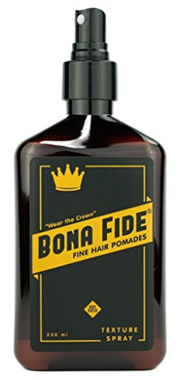 八百屋さんターゲット心理的にボナファイドポマード(BONA FIDE POMADE) テクスチャースプレー (250mL) メンズ 整髪料 ヘアスタイリング剤 水性 ヘアグリース スタイリングスプレー 液体状ポマード リッキドタイプ ツヤあり