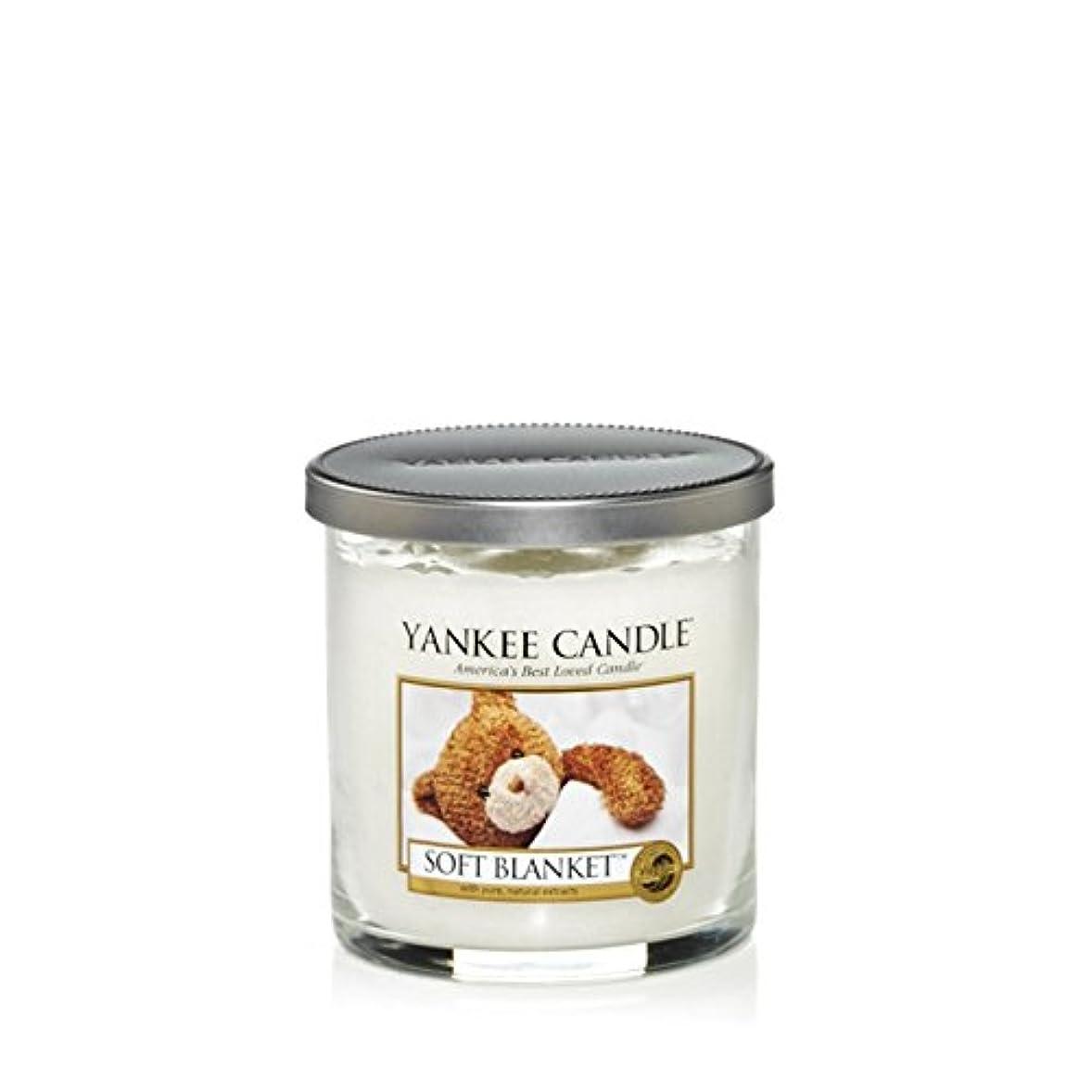牛バナナバスYankee Candles Small Pillar Candle - Soft Blanket (Pack of 6) - ヤンキーキャンドルの小さな柱キャンドル - ソフト毛布 (x6) [並行輸入品]