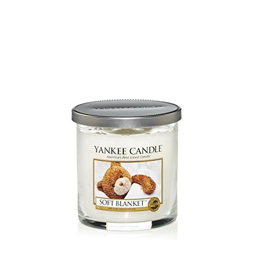プラットフォーム一族上げるYankee Candles Small Pillar Candle - Soft Blanket (Pack of 2) - ヤンキーキャンドルの小さな柱キャンドル - ソフト毛布 (x2) [並行輸入品]