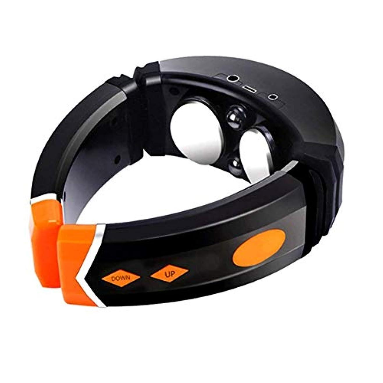 教えて振り返るについて首のマッサージャー - 多機能 - インテリジェント暖房 - マルチ周波数振動 - マッサージ/レッグ/ウエスト/フット - 筋肉痛の軽減