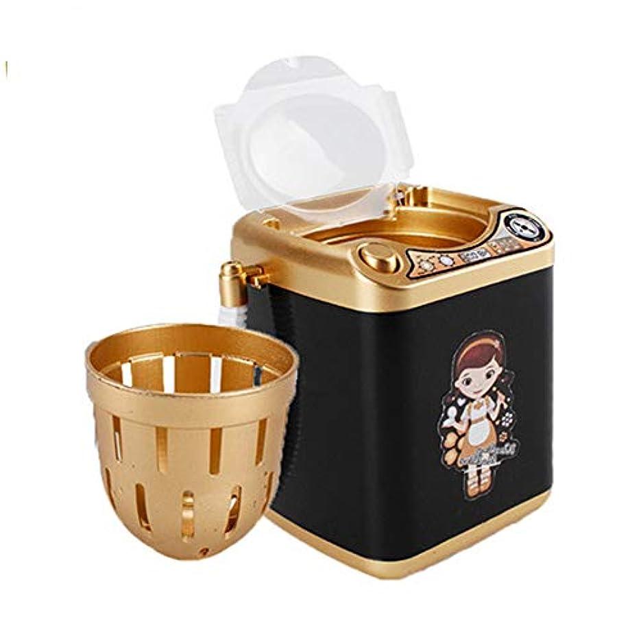 Missley ミニブレンダー洗濯機のおもちゃ美容スポンジブラシワッシャーメイクアップブラシクリーナー模擬電化製品教育ギフト (Style2)