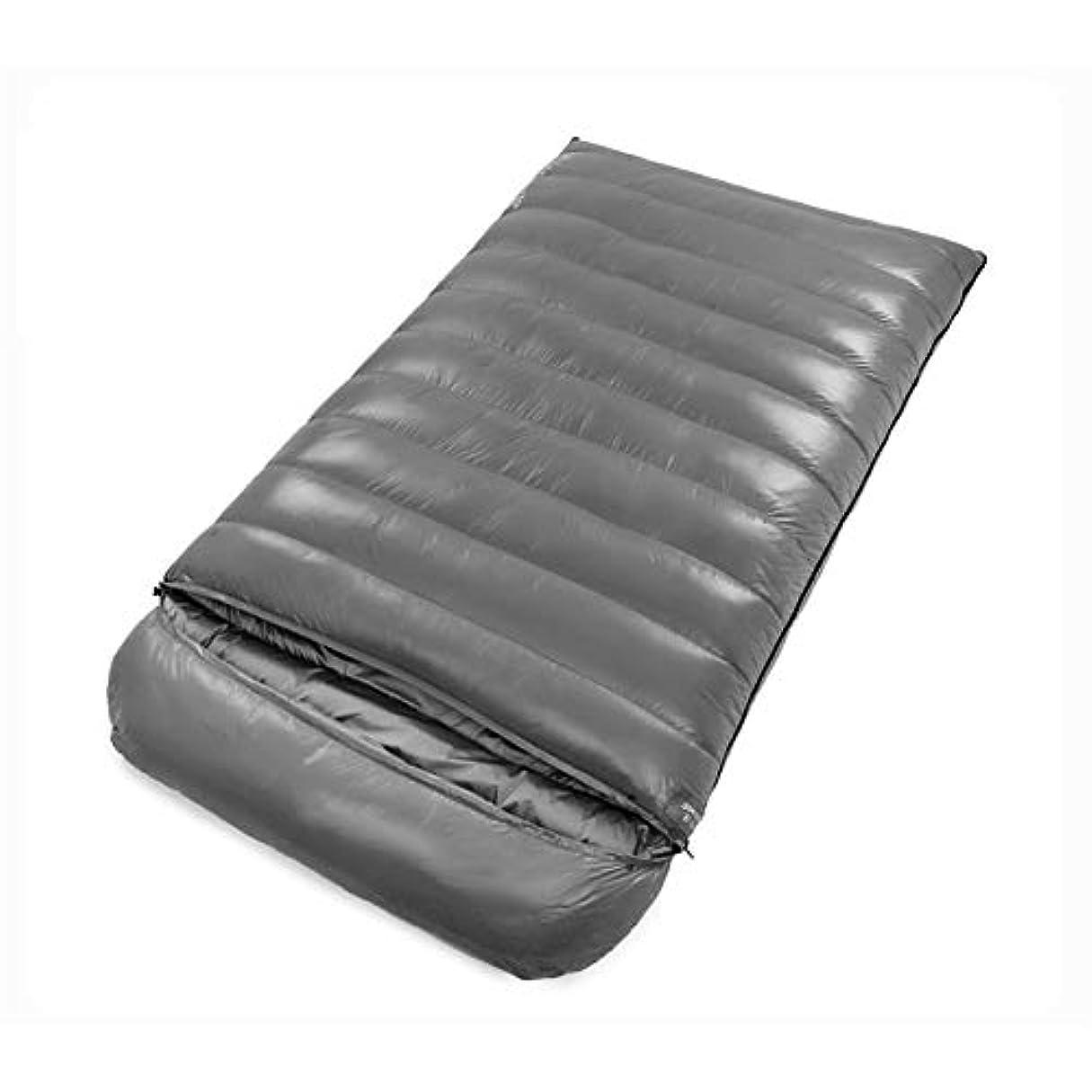 ベッドアカデミック咲くDurable,breathable,comfortableスリーピングバッグ、クイーンサイズダブルスリープバッグ4シーズン封筒大人睡眠袋軽量厚い暖かい睡眠パッド,gray,1200g