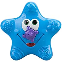 Baby Bath ToyヒトデフローティングBathtub Sprayerスプリンクラシャワー電子プール水スプレーFountain for Playing ブルー Yothfly