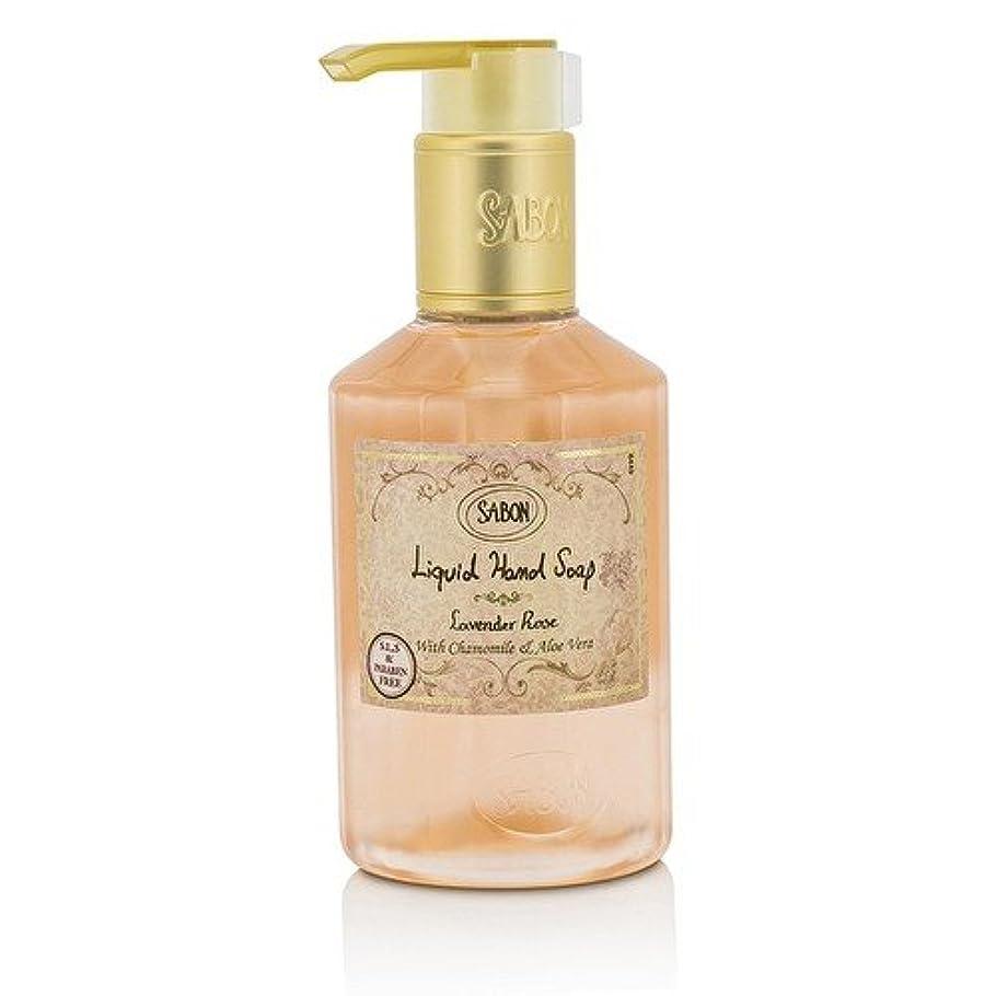 笑石鹸従うサボン Liquid Hand Soap - Lavender Rose 200ml/7oz並行輸入品