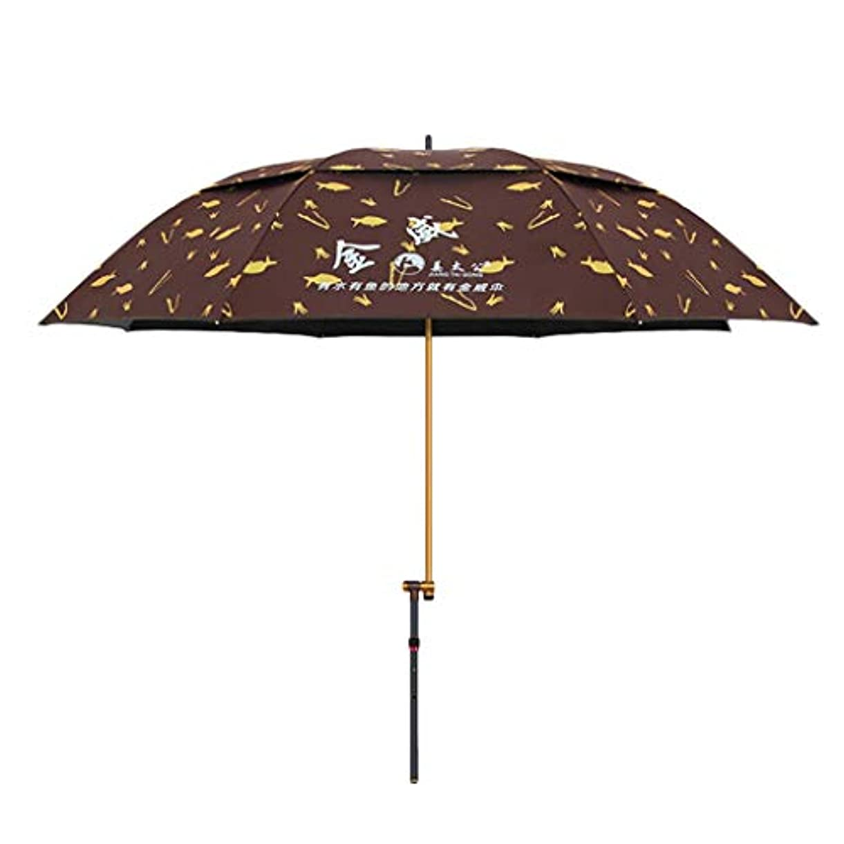 騒々しい肘掛け椅子航空便太陽傘マグネシウムアルミ合金日焼け止め雨折りたたみ傘屋外サンシェード傘 (Size : H2.15m)