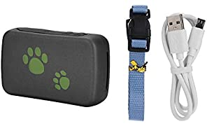 Pet GPS Locator, Dog Locator, ABS Smart Dog for Pet Cat Puppy(Green)