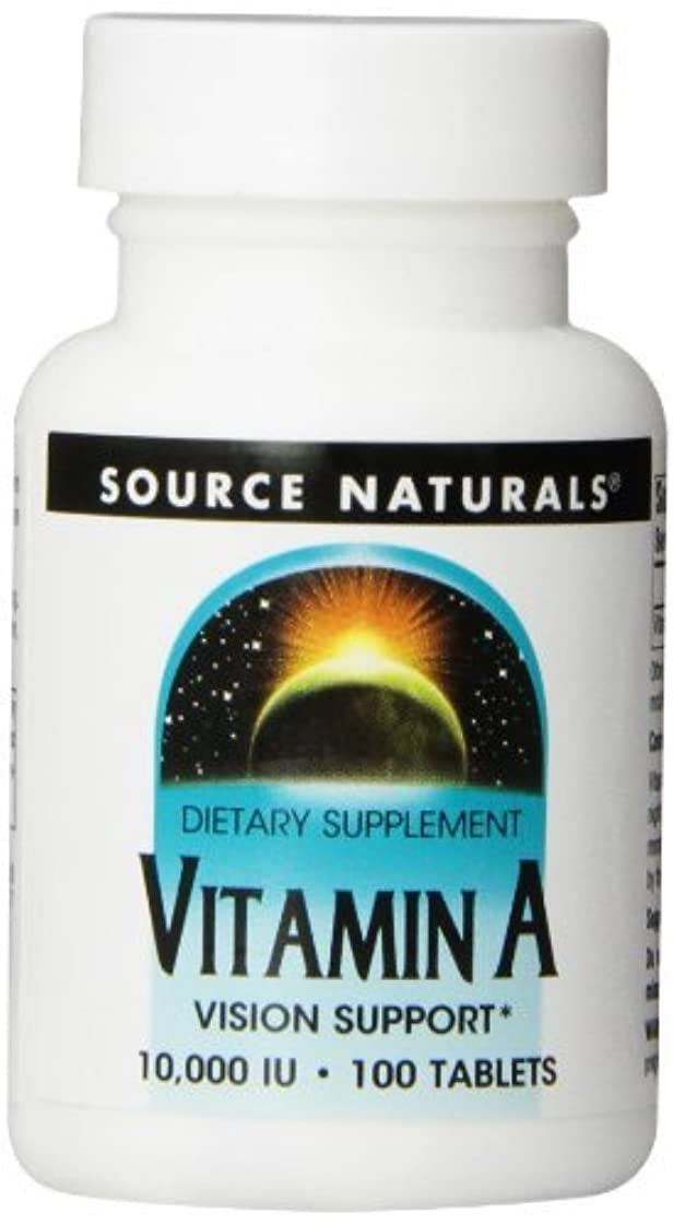 口径役立つアンビエントSource Naturals, Vitamin A, 10,000 IU, 100 Tablets by Source Naturals