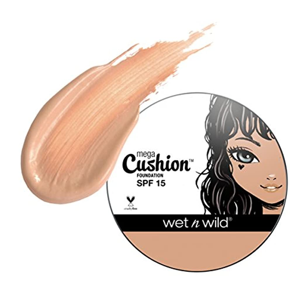 モナリザユーザー上昇(3 Pack) WET N WILD MegaCushion Foundation SPF 15 - Neutral Beige (並行輸入品)