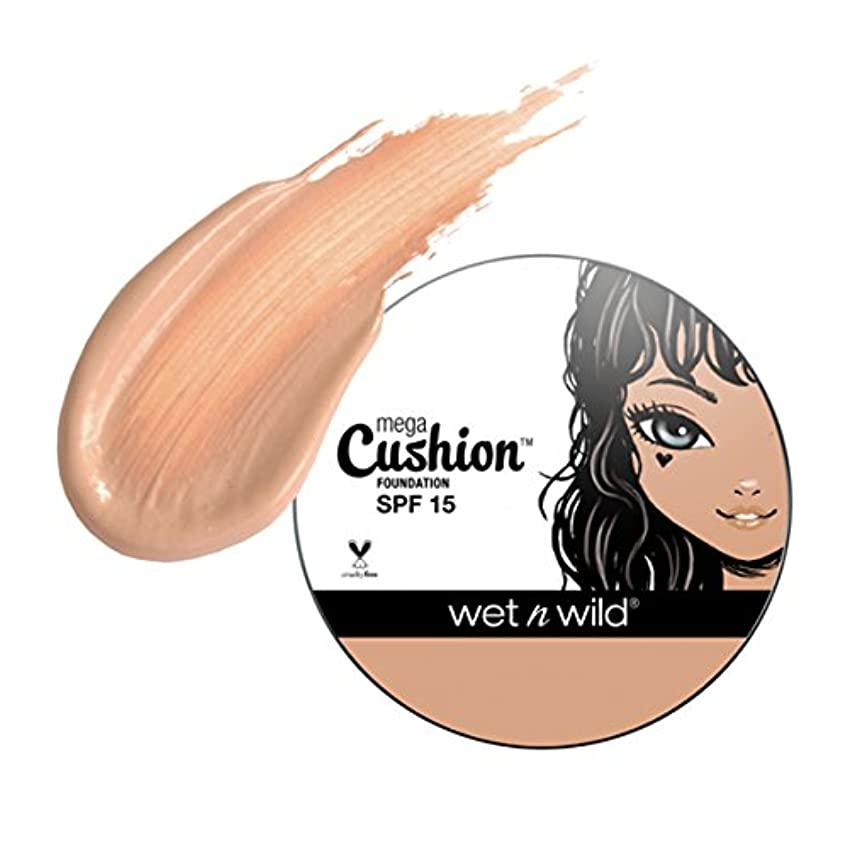 美的ケーキ私の(6 Pack) WET N WILD MegaCushion Foundation SPF 15 - Neutral Beige (並行輸入品)