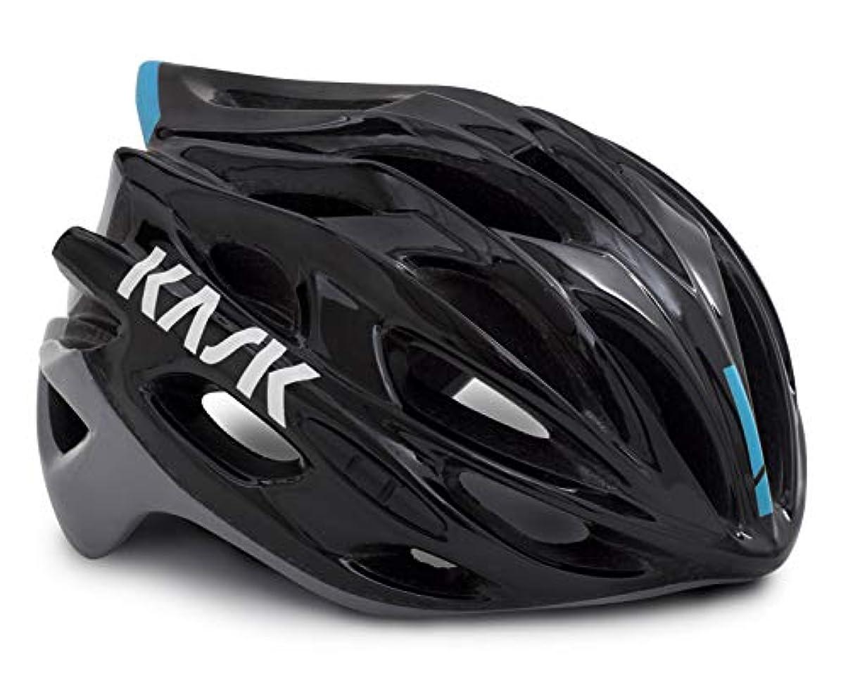 概して返済付けるKASK(カスク) ヘルメット MOJITO X BLK/ASH/L.BLU M サイズ:52-58cm