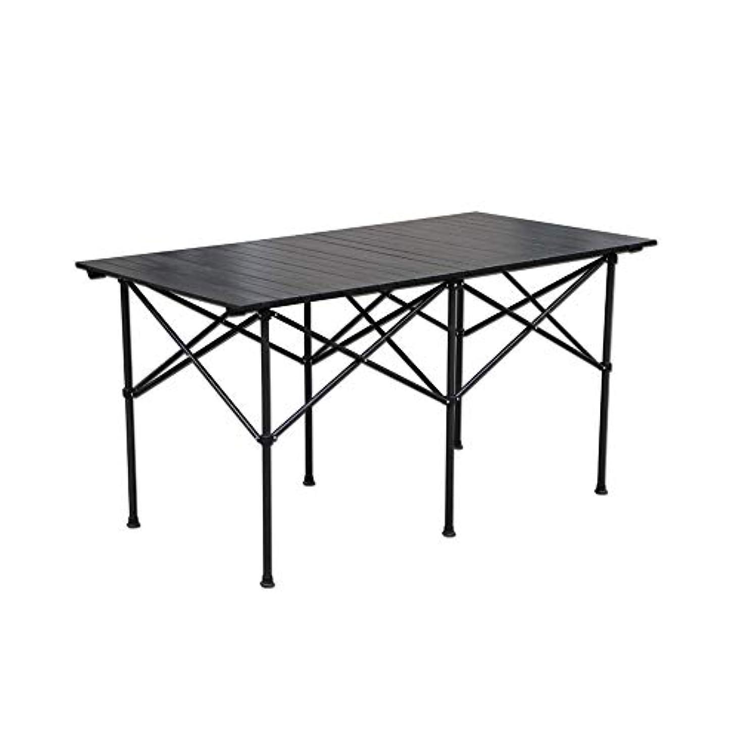 不明瞭持ってる絶妙LJHA zhuozi 折りたたみ式テーブル、折りたたみ式テーブルポータブル屋外折りたたみ式テーブル失速テーブルアルミ合金シンプル
