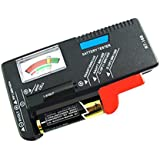 Universal Volt Battery Tester Meter for AA AAA C D 9V and Button Cell BT-168 New