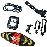 自転車テールライト 自転車ライト テールライト セット リアライト 高輝度LEDテールライト 夜間安全 USB充電