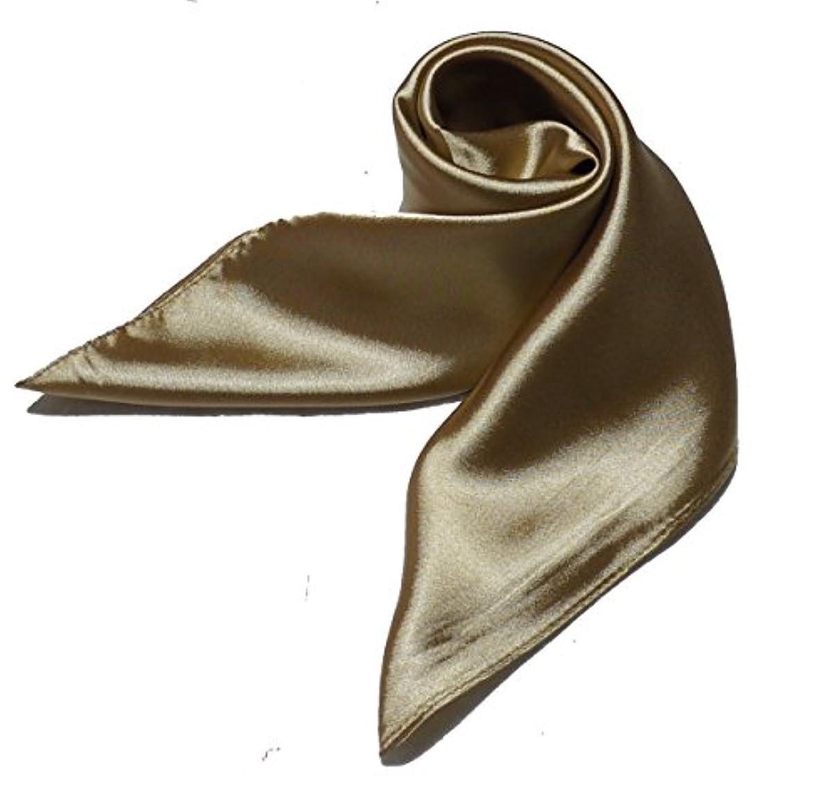 通訳安全性ペインギリック厳選全10色スカーフ 中判60角スカーフ 純色企業制服 レディーズ 無地柄UVカット 美しさ際立つ 大人のスカーフ シルク調スカーフ