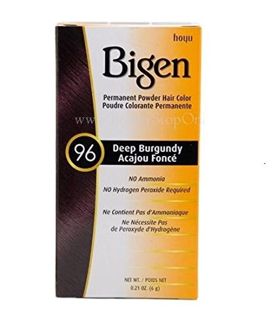 病者振幅説明Bigen パーマネントヘアカラーパウダー、ディープBurgundy.21オンス 0.21オンス ディープバーガンディ