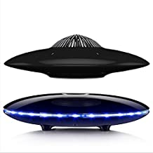 Magnetic Levitating Speaker Bluetooth 4.0 LED Wireless Floating Speakers for Home,Office Decor,Unique Holiday Gifts,Night Light