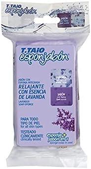 T.TAiO Esponjabon Lavender Soap Sponge