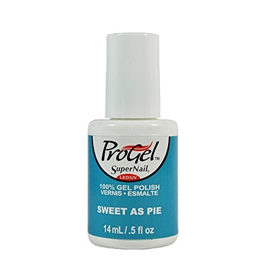 合併症政権ひそかにSuperNail ProGel Gel Polish - Sweet as Pie - 0.5oz / 14ml