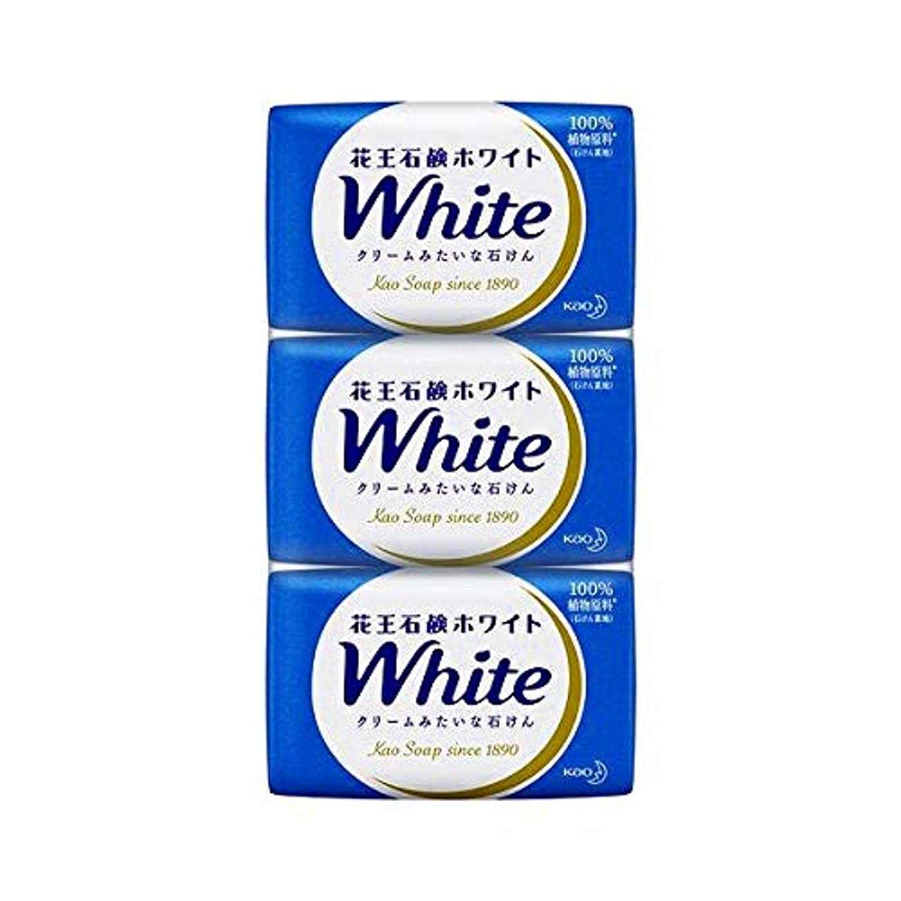 疾患支払う推測する花王ホワイト レギュラーサイズ 85g*3個入