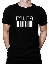 Muta barcode Tシャツ