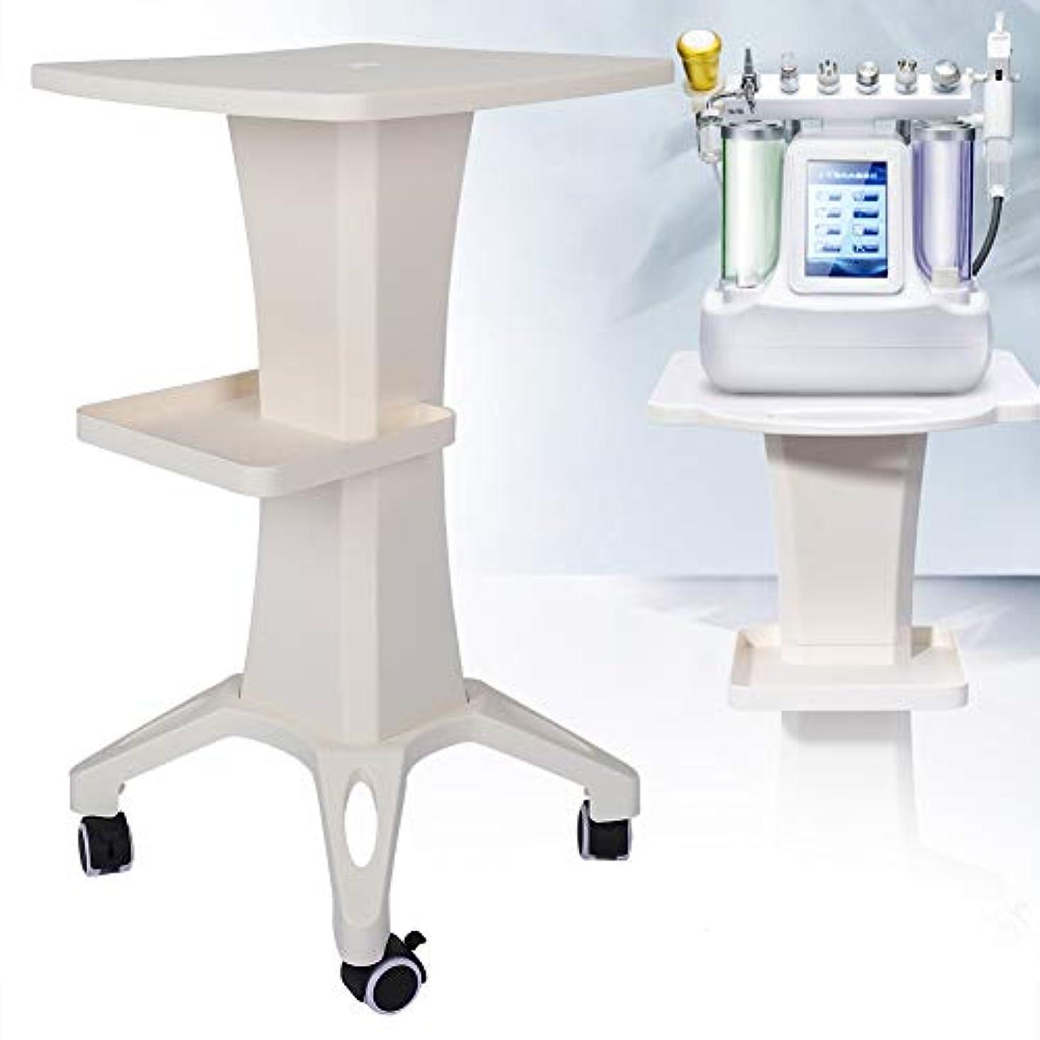 鉱夫コンドーム療法美容院のトロリー、デスクトップの美装置の圧延車輪の貯蔵の棚美容院の世帯のトロリーカート