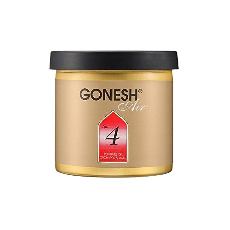 シンボルお嬢実行GONESH ゲルエアフレッシュナー No.4ガーネッシュGEL AIR FRESHENER 307204