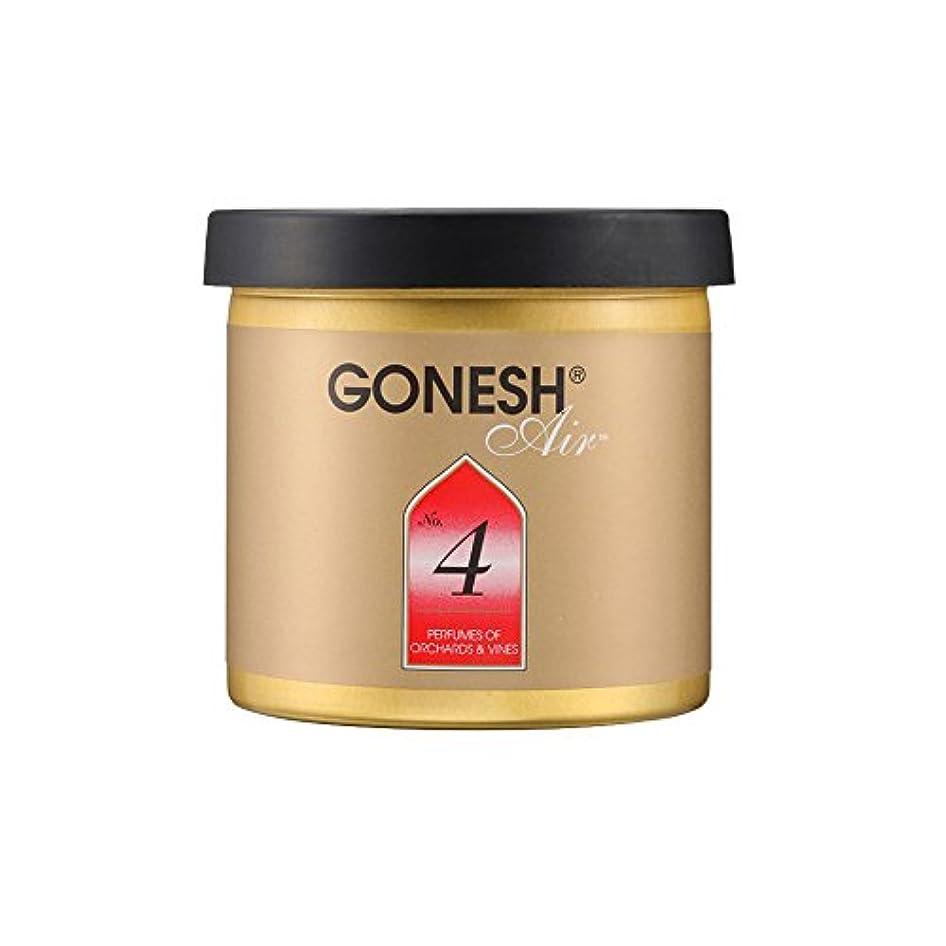 見積りさようなら全体にGONESH ゲルエアフレッシュナー No.4ガーネッシュGEL AIR FRESHENER 307204