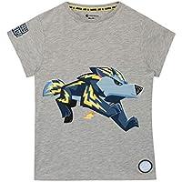 Animal Jam Boys Wolf T-Shirt Grey